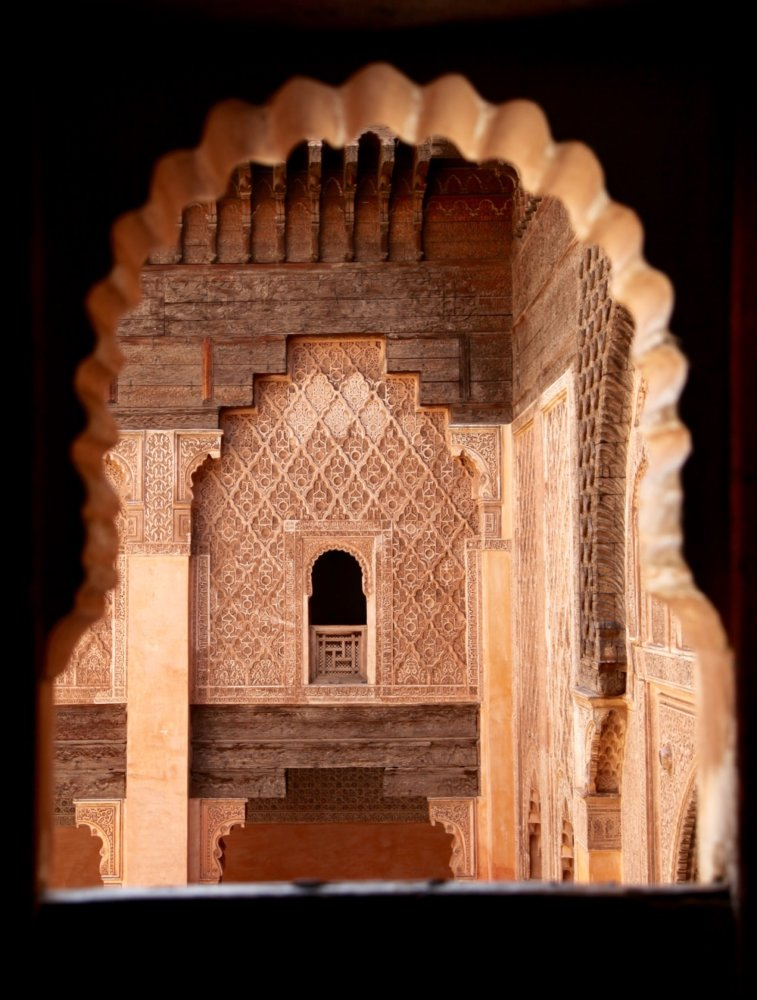 Ben Youssef Madrasa window