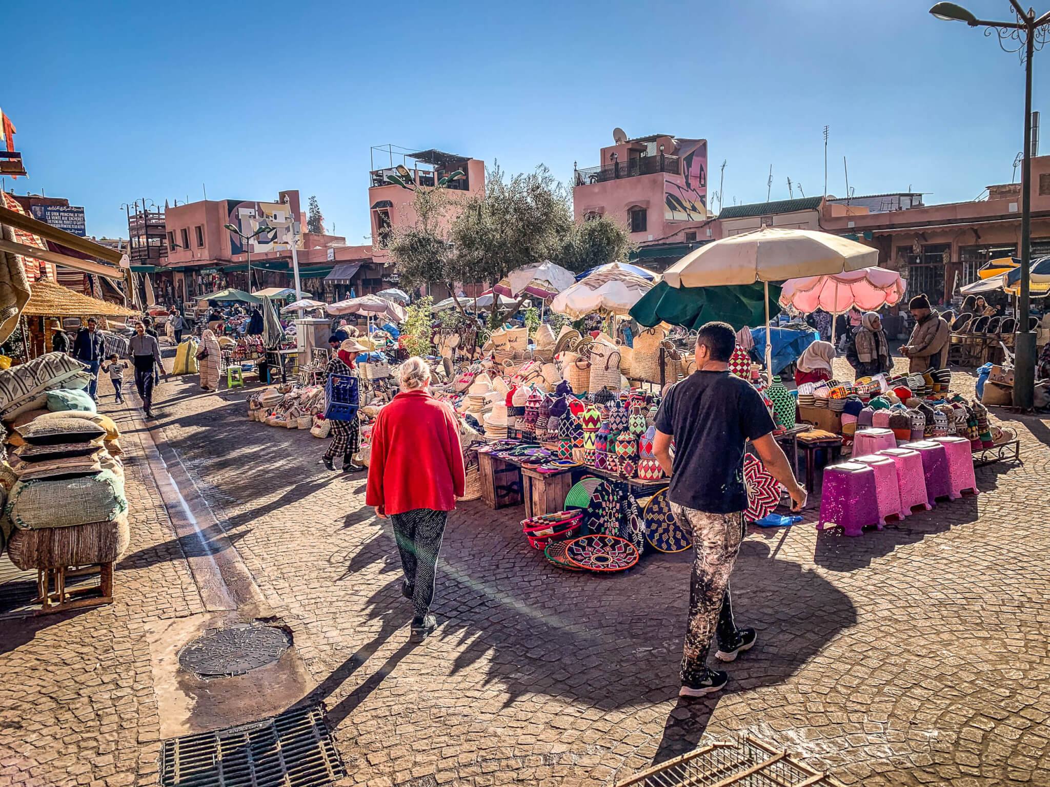 Souk shopping Marrakesh