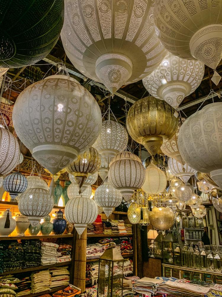 Mustapha Blaoui lamps