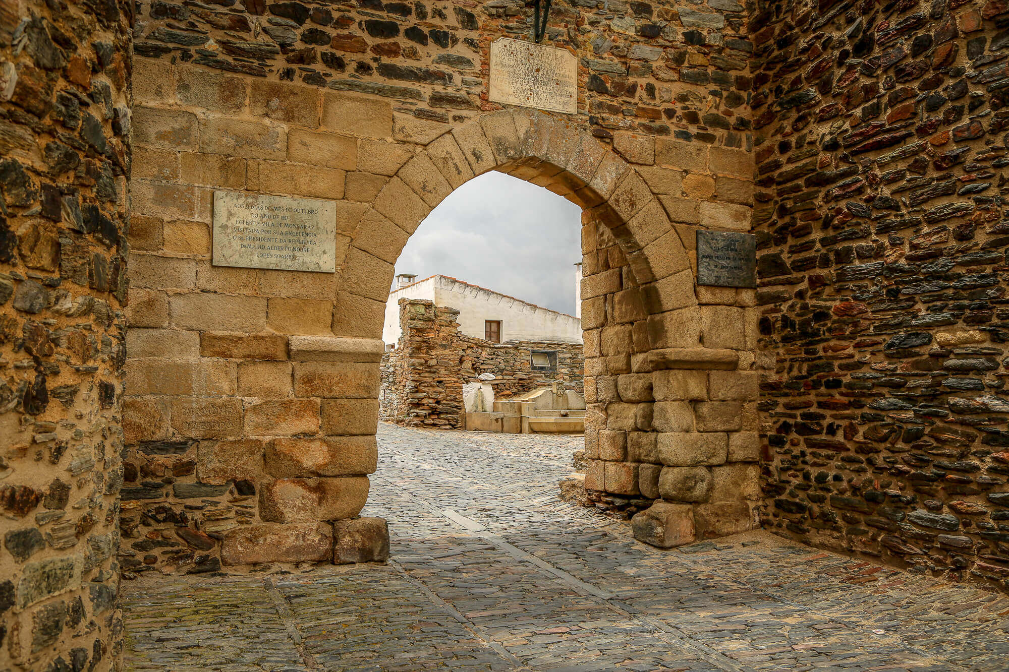 Monsaraz Castle entrance