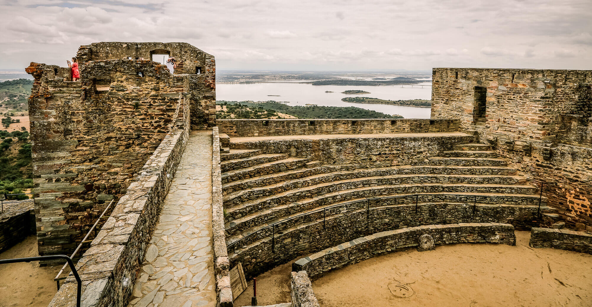 Monsaraz Castle amphitheater