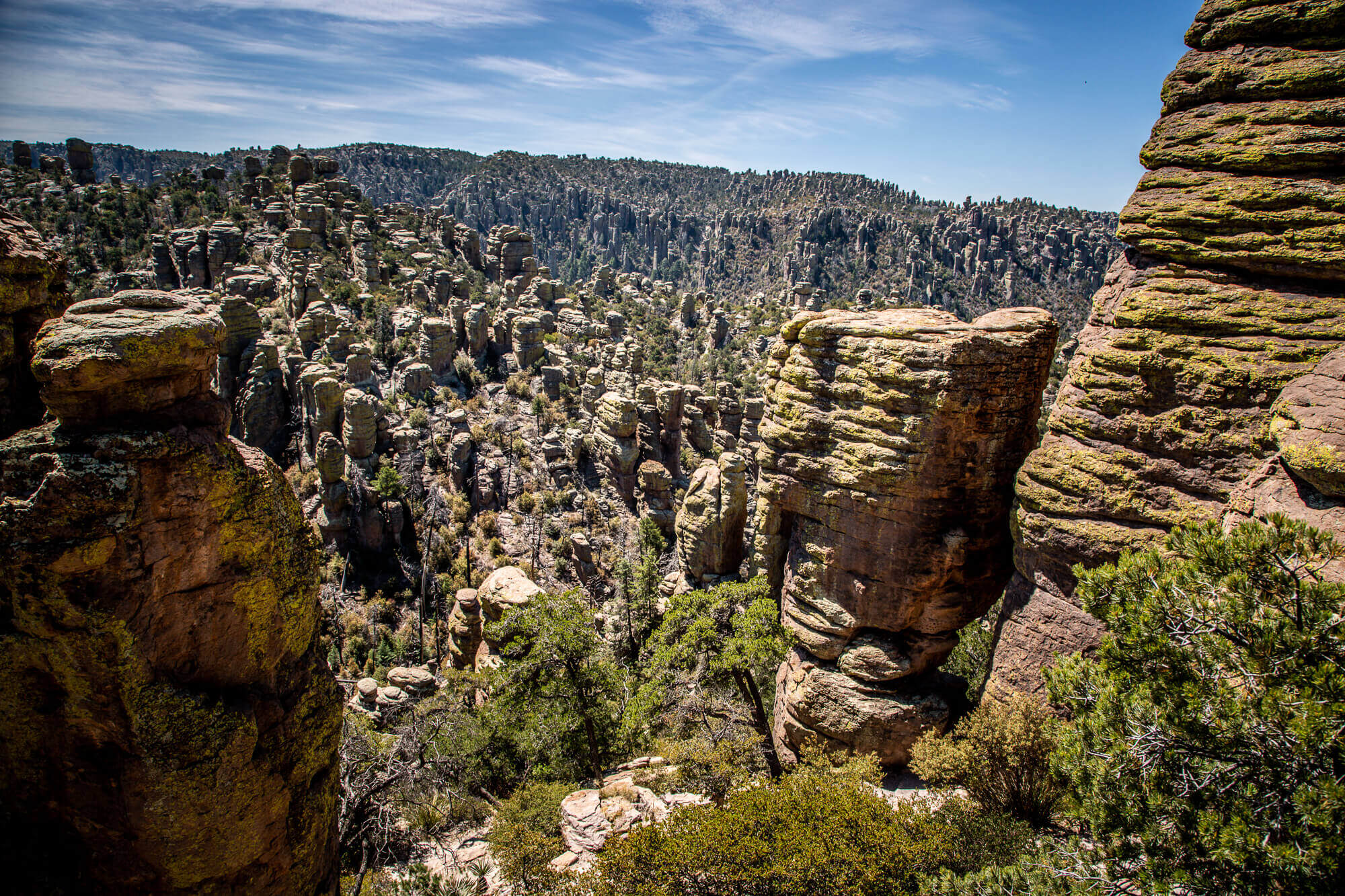 Chiricahua National Monument canyon view