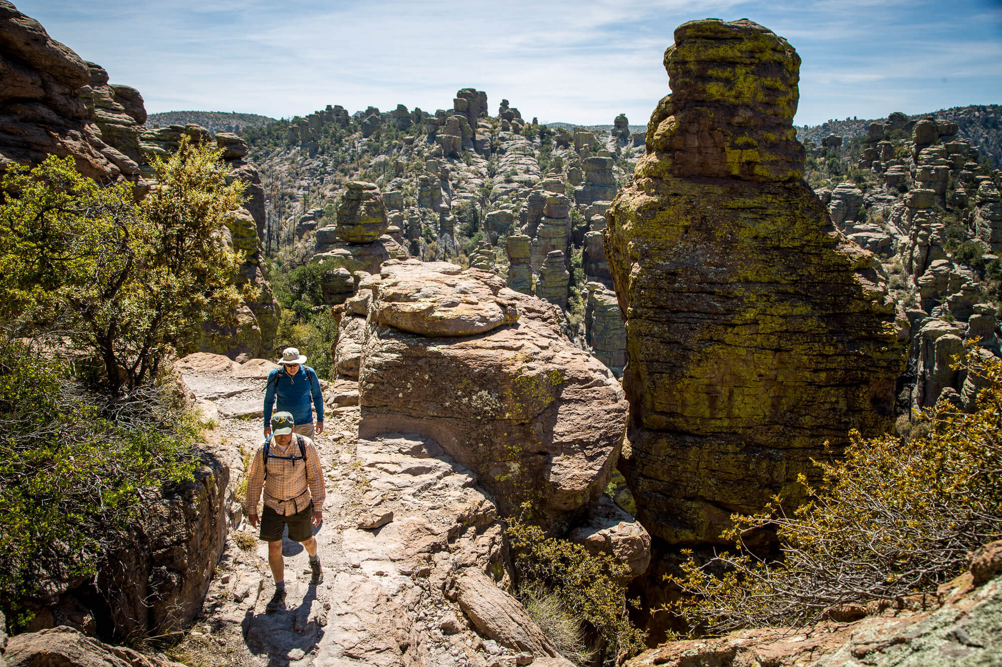 Hiking in Chiricahua National Monument