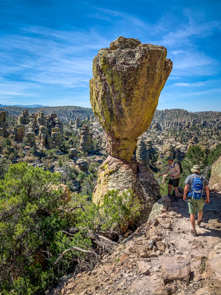 Chiricahua National Monument balancing rock