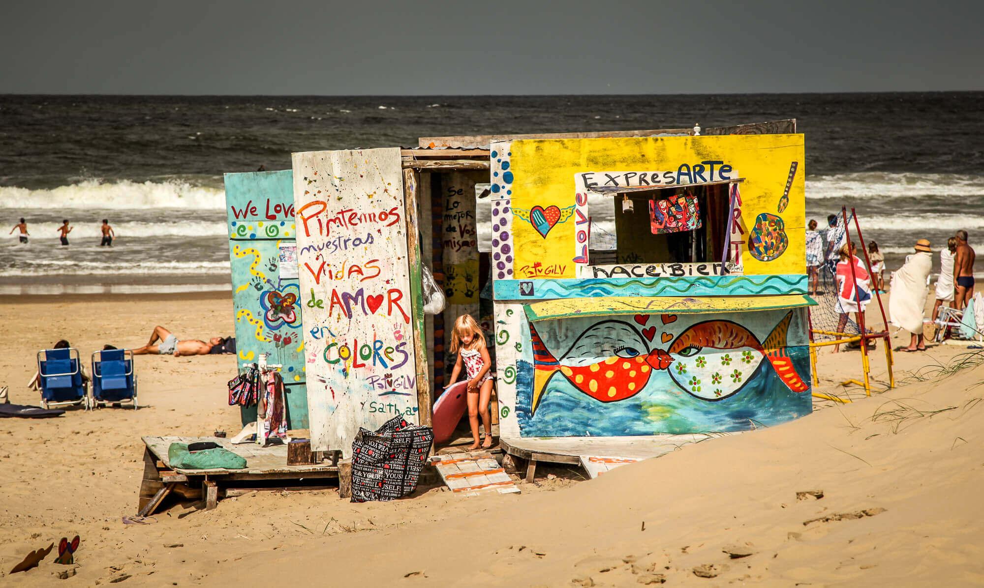Beach shack Jose Ignacio