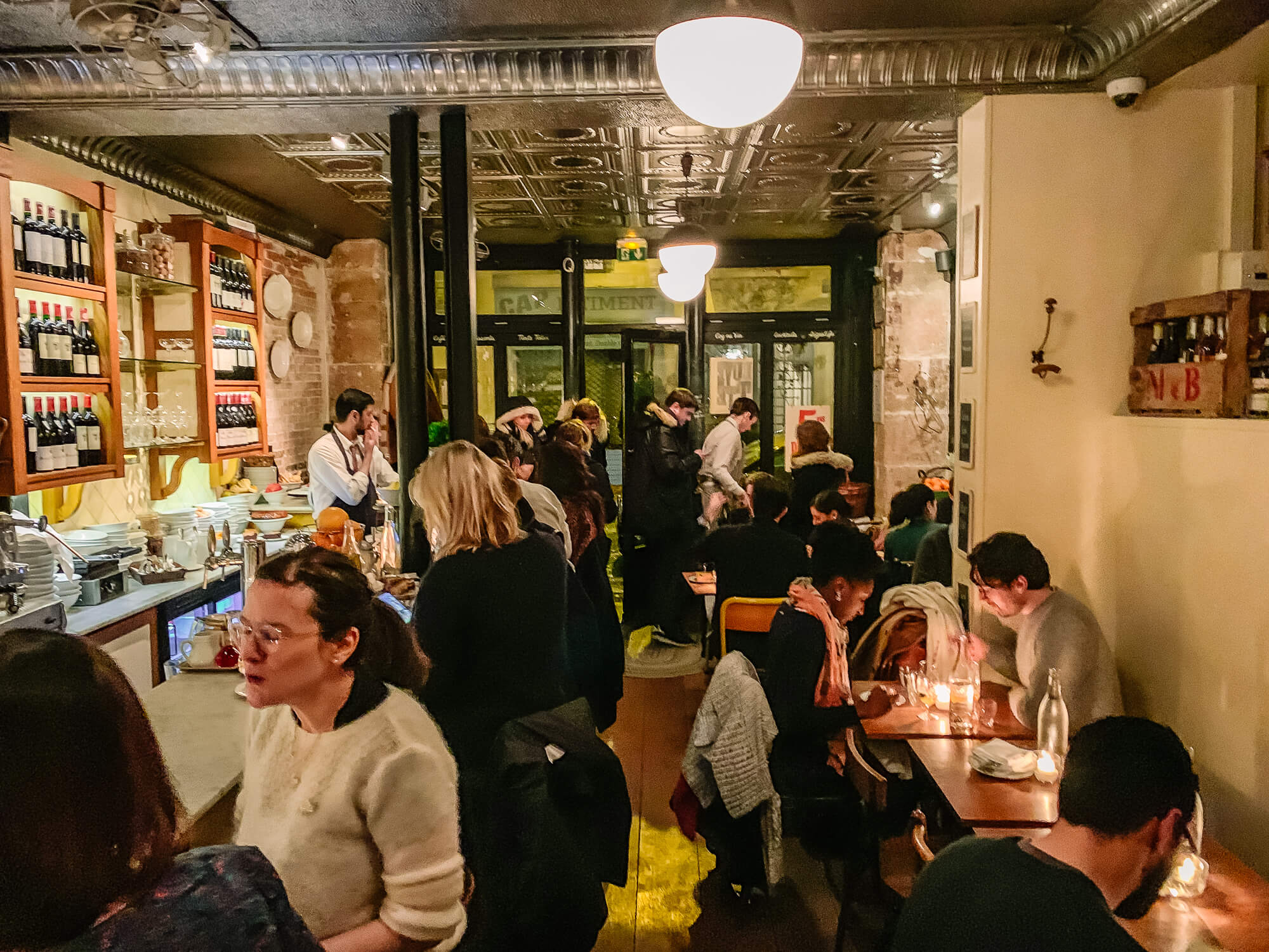 Buvette Paris on a busy night