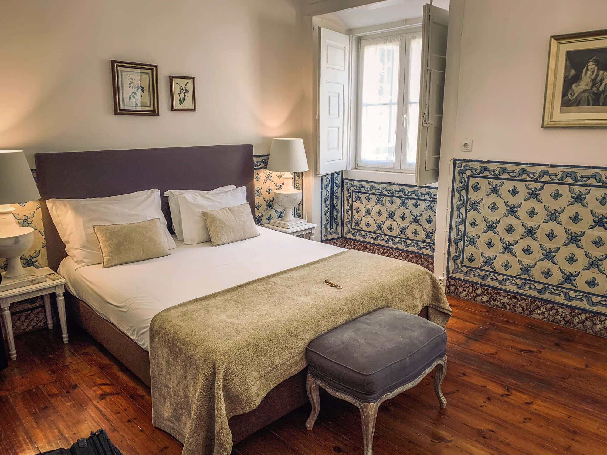 Palacio Ramalhete room