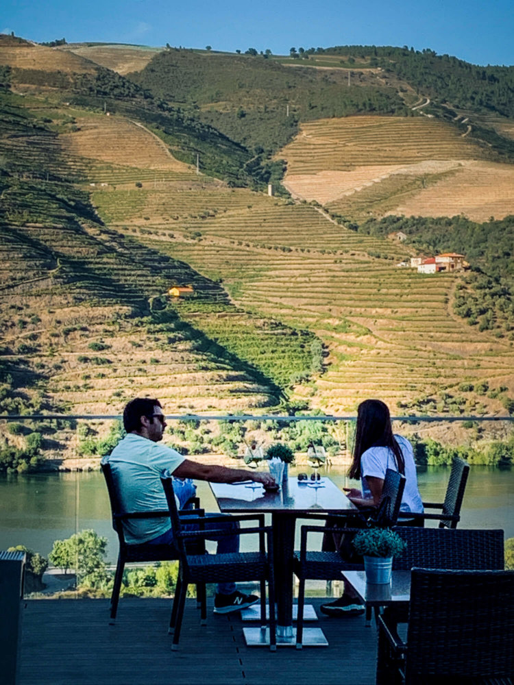 dinner with a view Vila Gale Douro