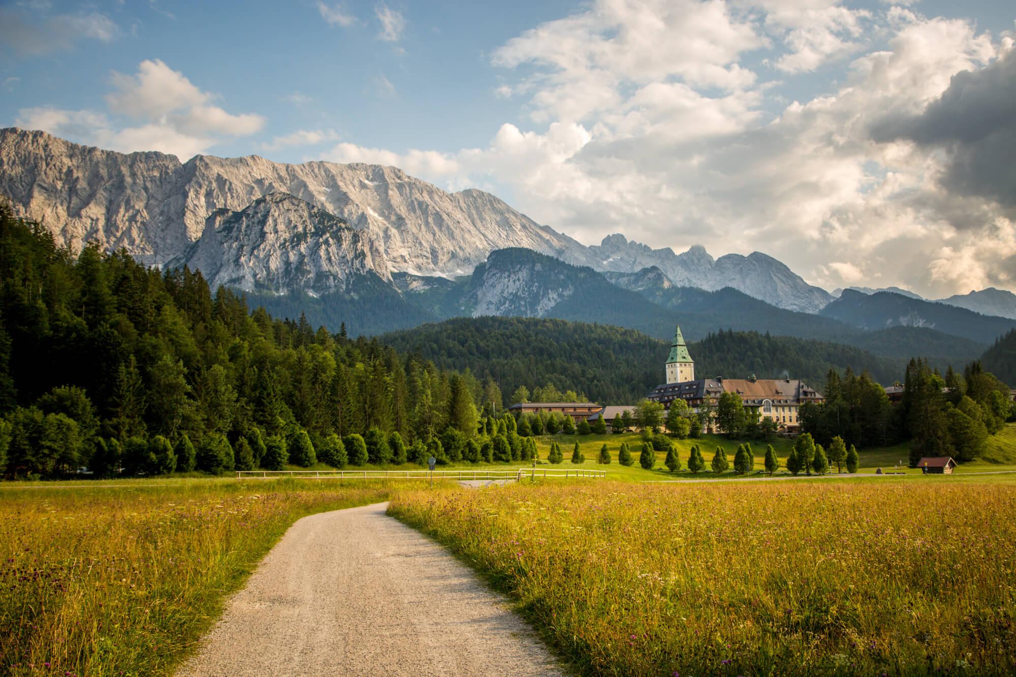 Hotel Review of Schloss Elmau luxury spa Bavaria