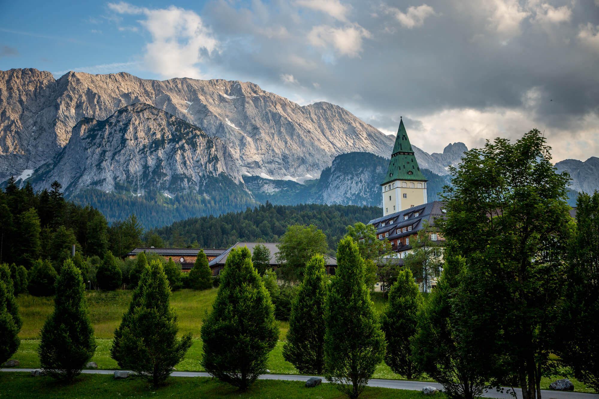 Schloss Elmau best hotel in Bavaria