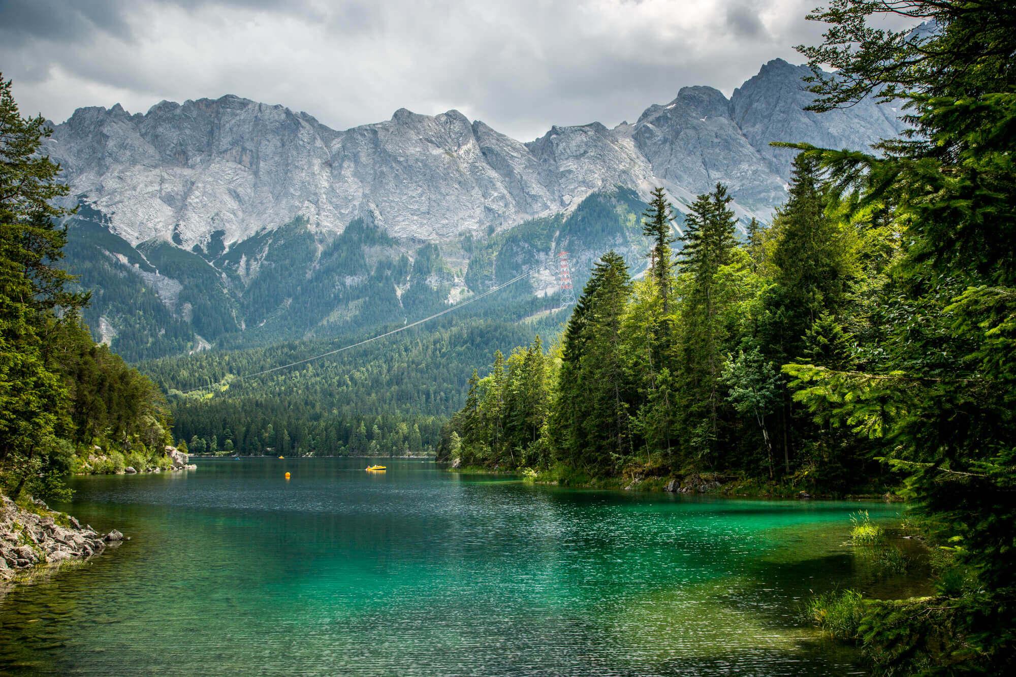 Eibsee lake Bavaria