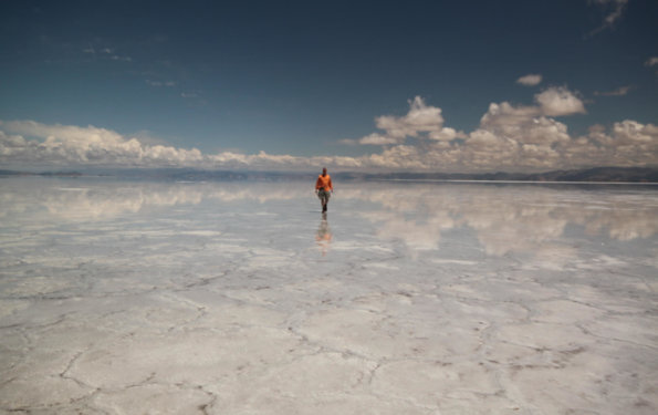 Salinas Grandes reflection