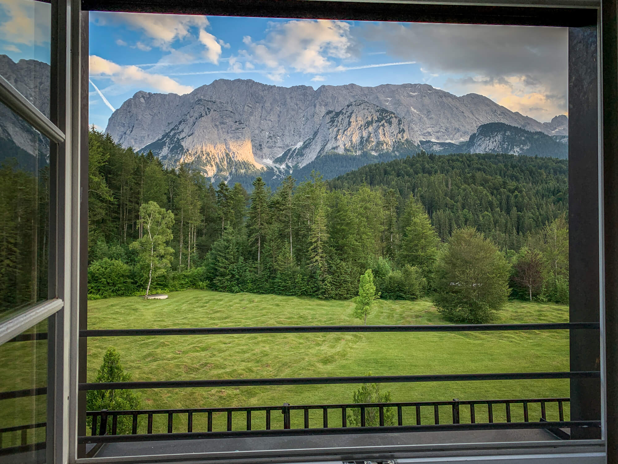 Schloss Elmau room view