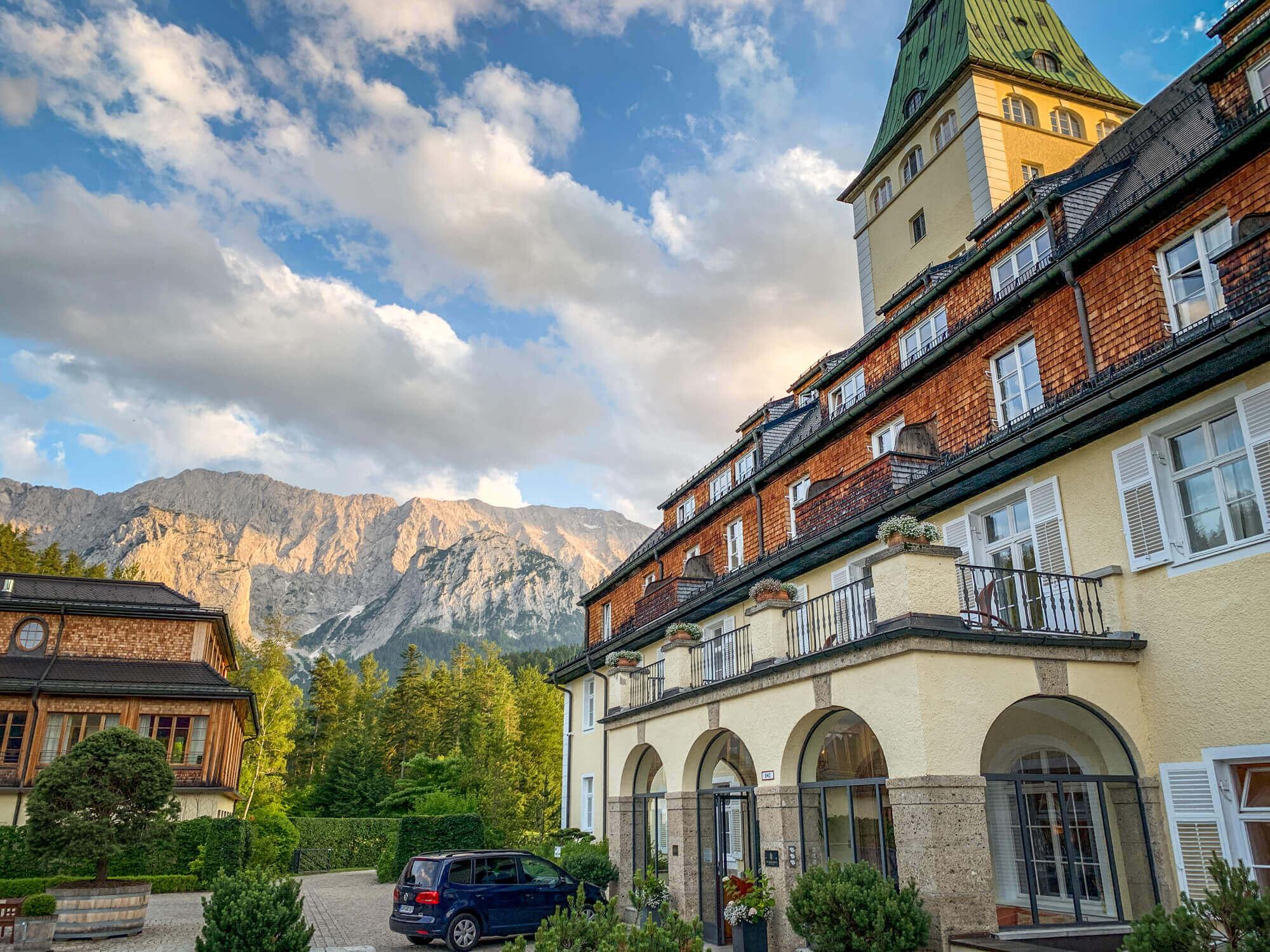 Schloss Elmau best boutique hotels in Bavaria