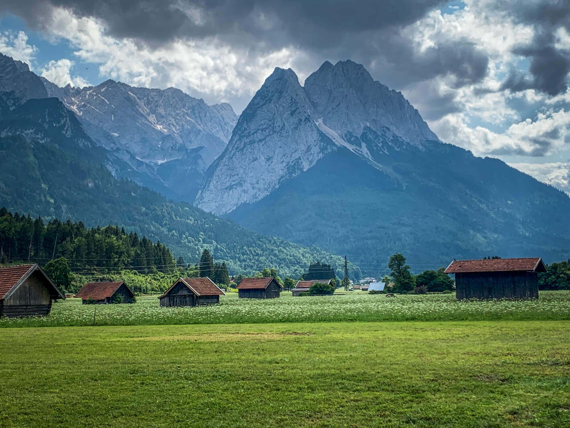 Garmisch-Partenkirchen village