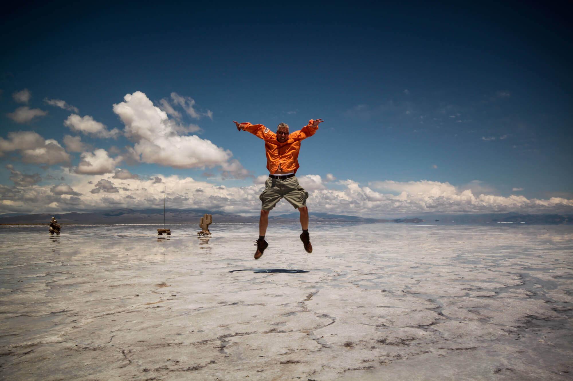 Salinas Grandes jumping