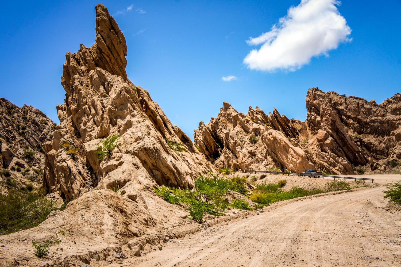 Quebrada de las Flechas curvy road