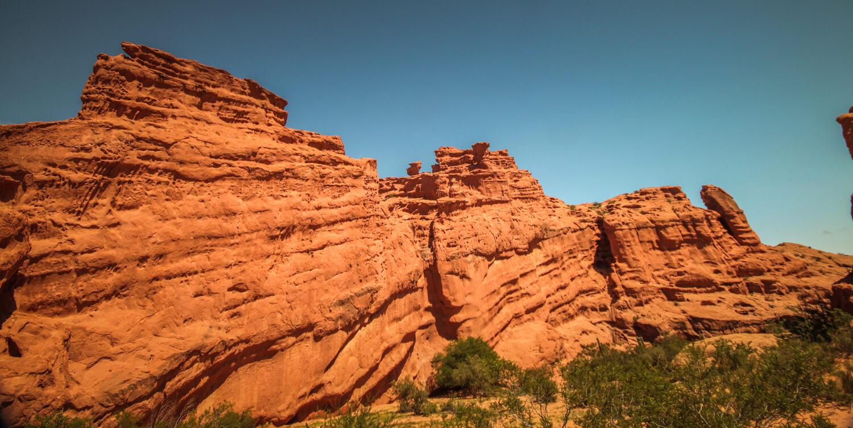 Red rock canyons Cafayate to Salta