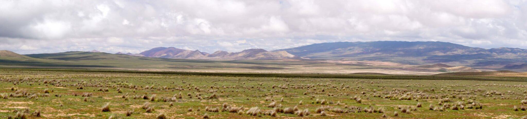 Views of the Altiplano Salta Argentina