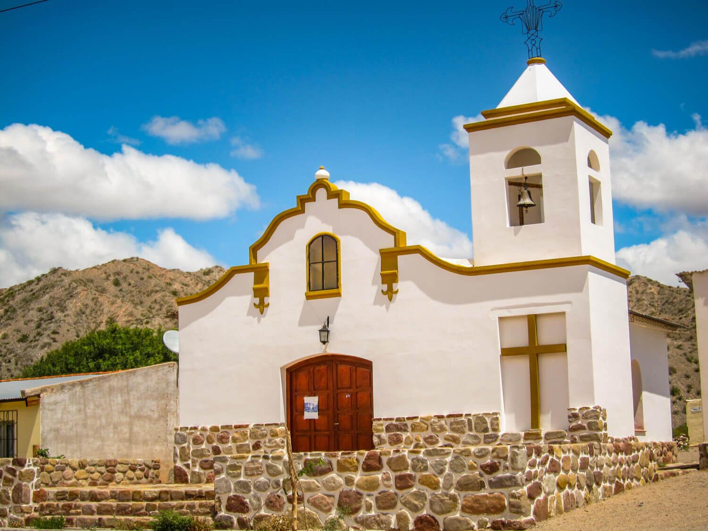 Church off Ruta 40 Salta