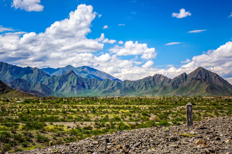 Mountain views from Ruta 40 Salta