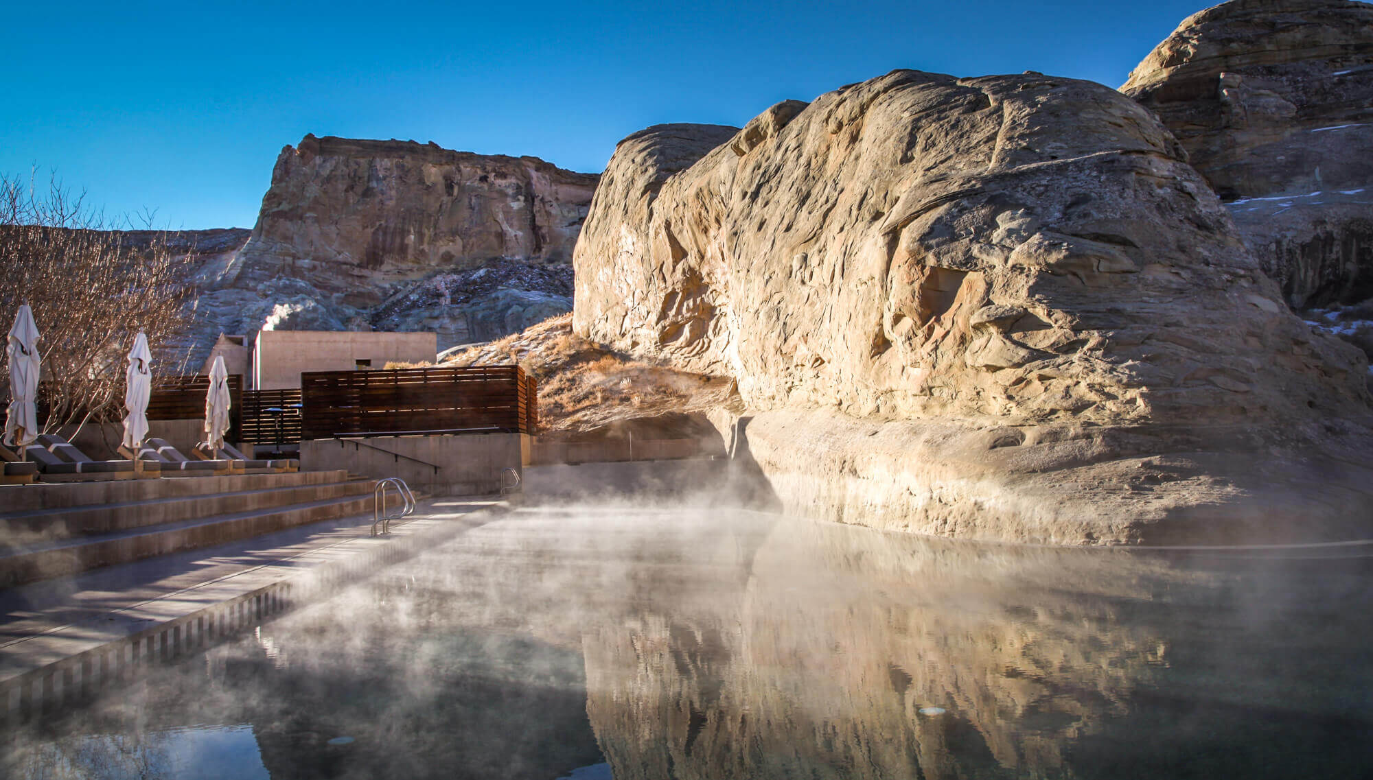 Amangiri best luxury hotel pool