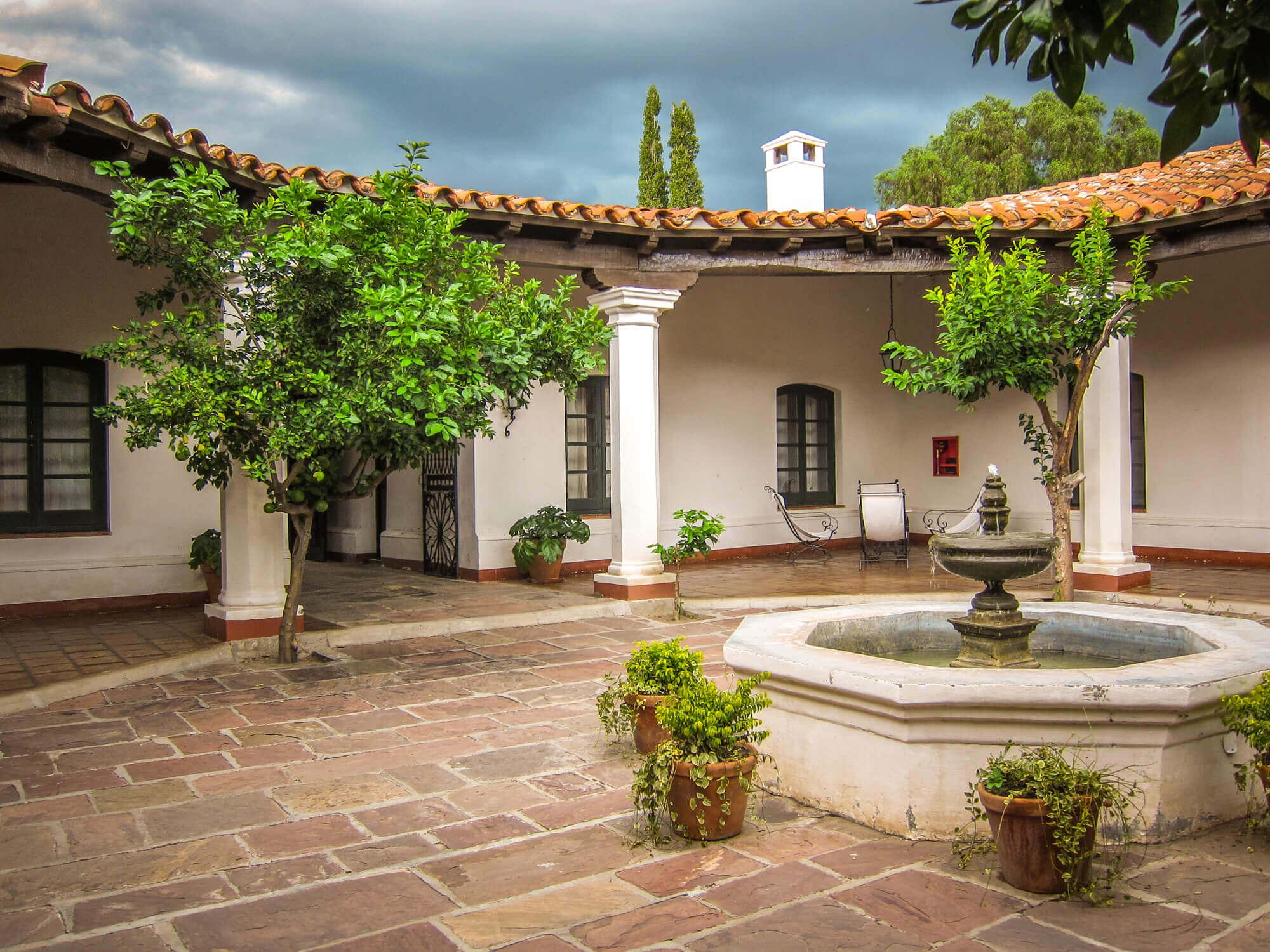 Patios de Cafayate courtyard