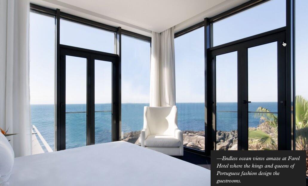 Farol Hotel Cascais room view