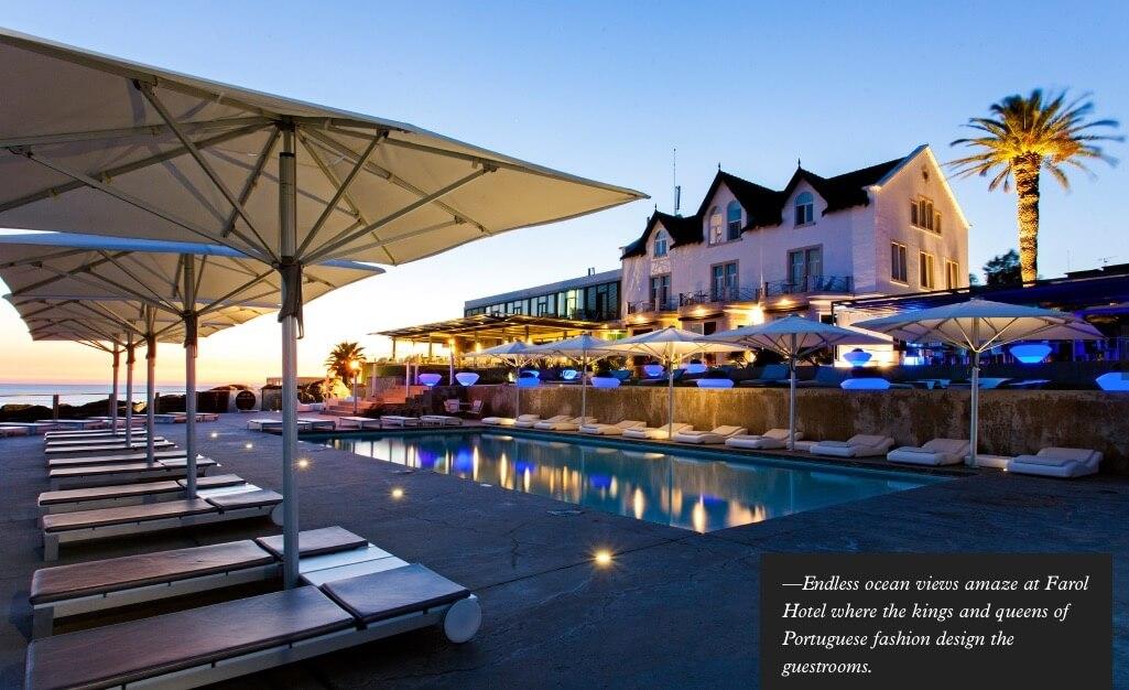 Farol Hotel pool