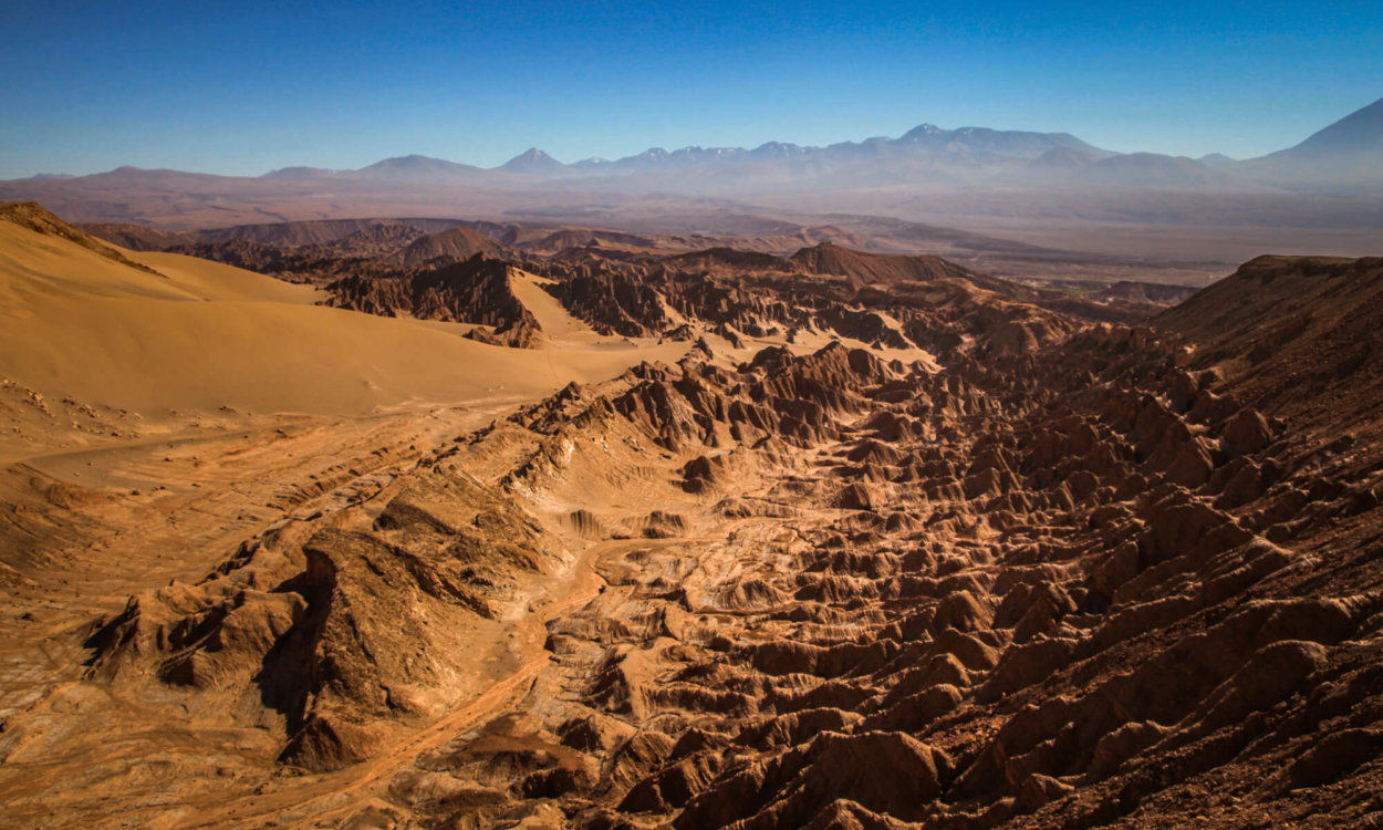 Atacama driest place on earth