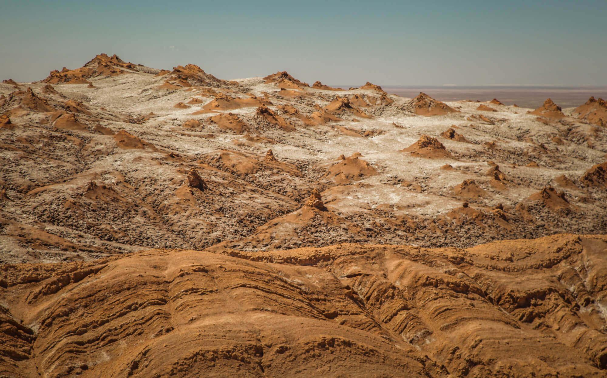 Valle de la Muerte salt crystals
