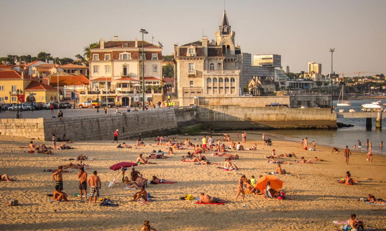 Cascais Portugal main beach