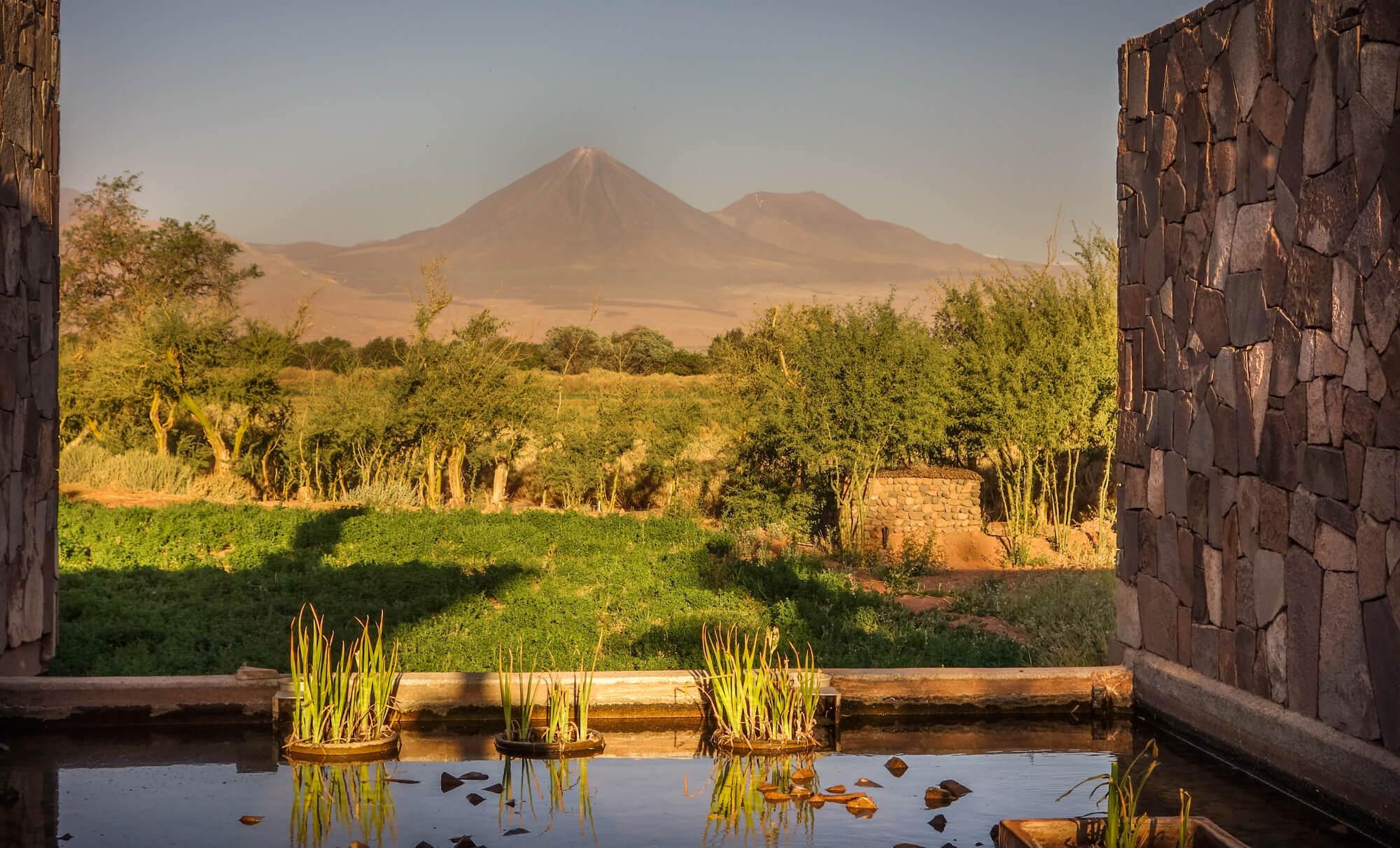 Volcano view Tierra Atacama