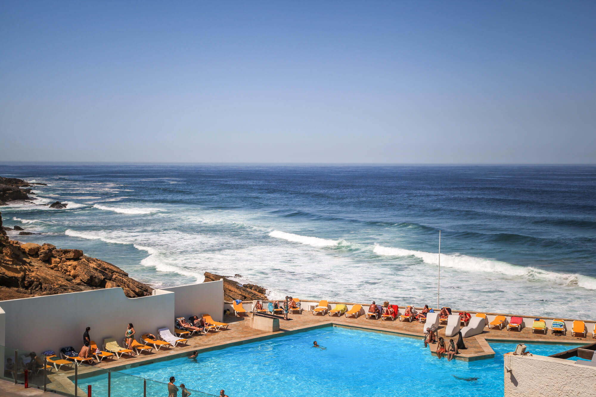 Praia do Guincho pool