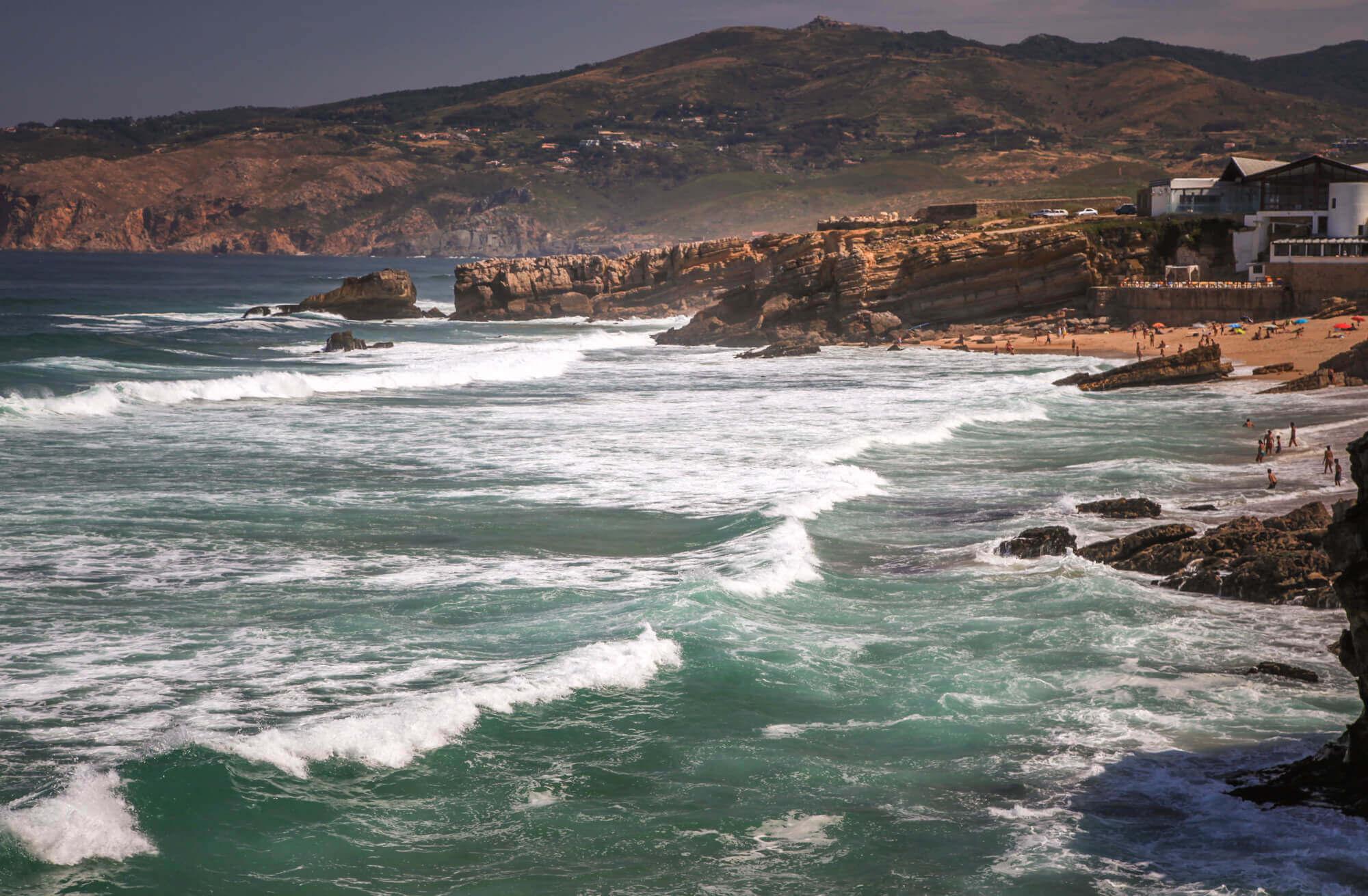 Praia do Guincho coastline