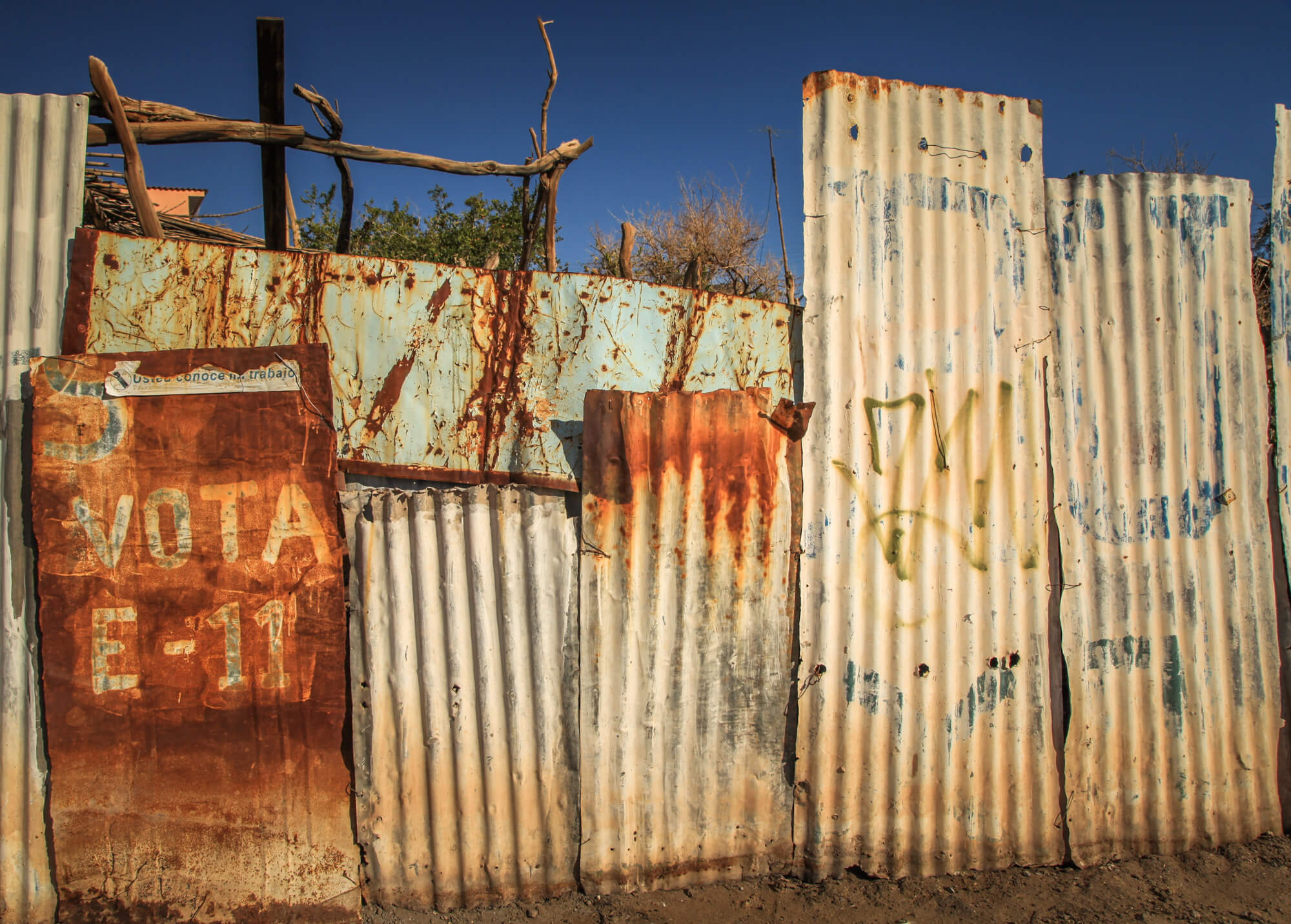 rusty wall San Pedro de Atacama Taconao