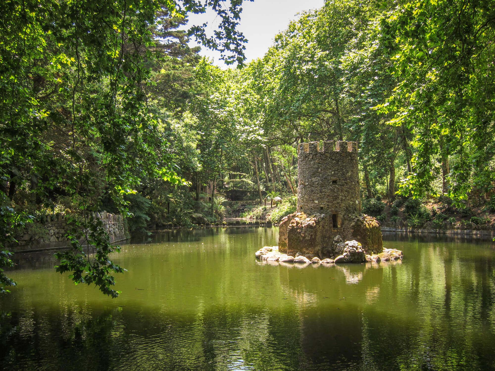Follies in garden Sintra