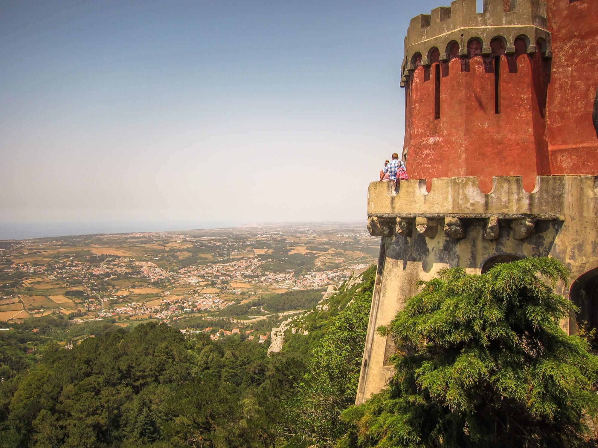 Pena Palace Sintra views