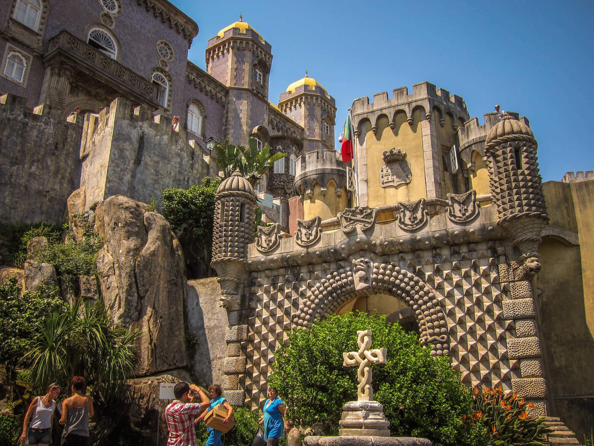 Pena Palace Sintra entrance