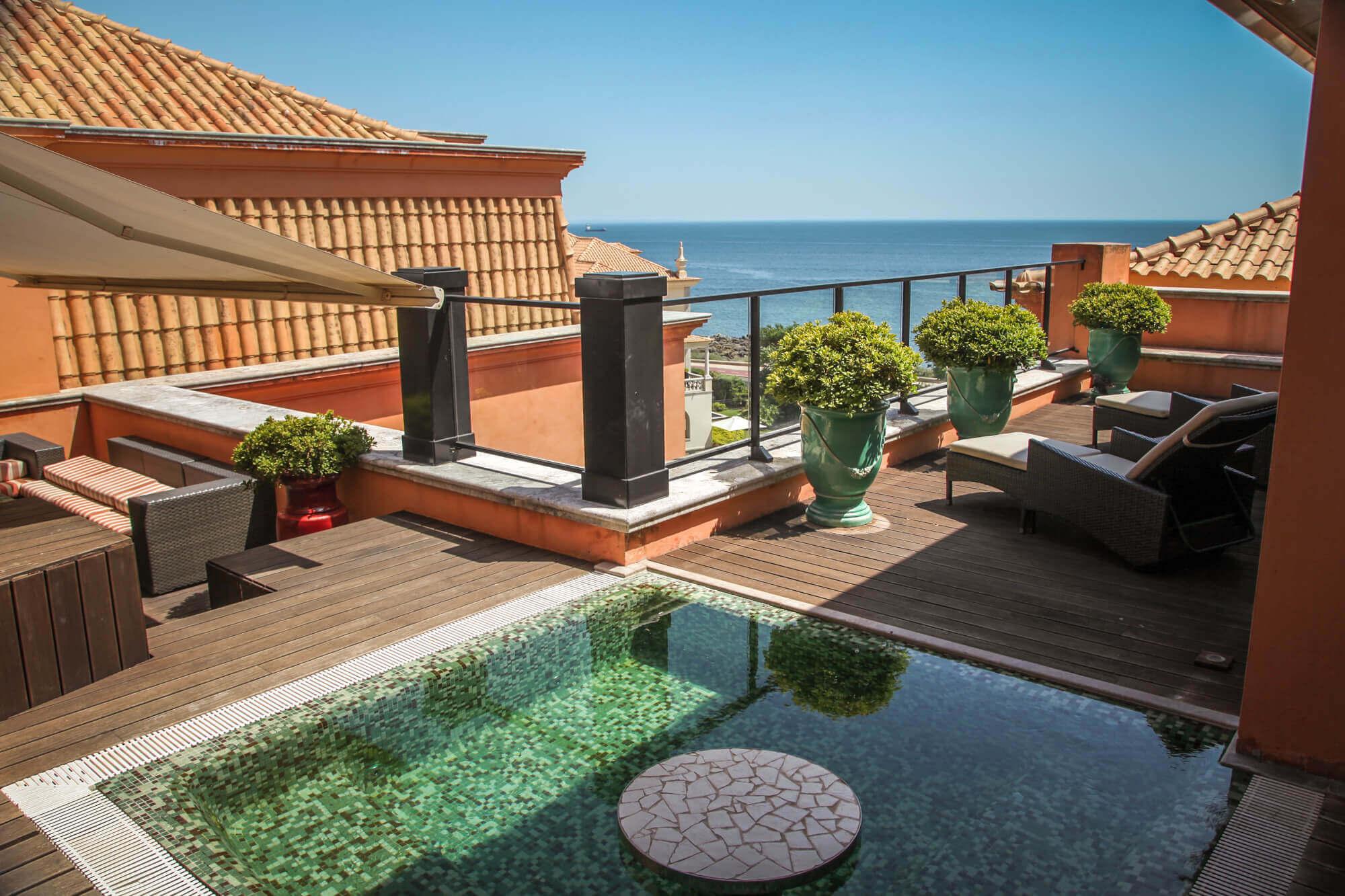 Villa Italia Cascais Presidential Suite terrace
