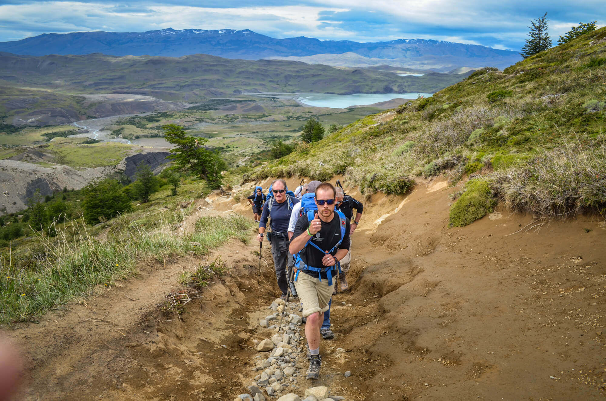 Tierra Patagonia Guide on trail