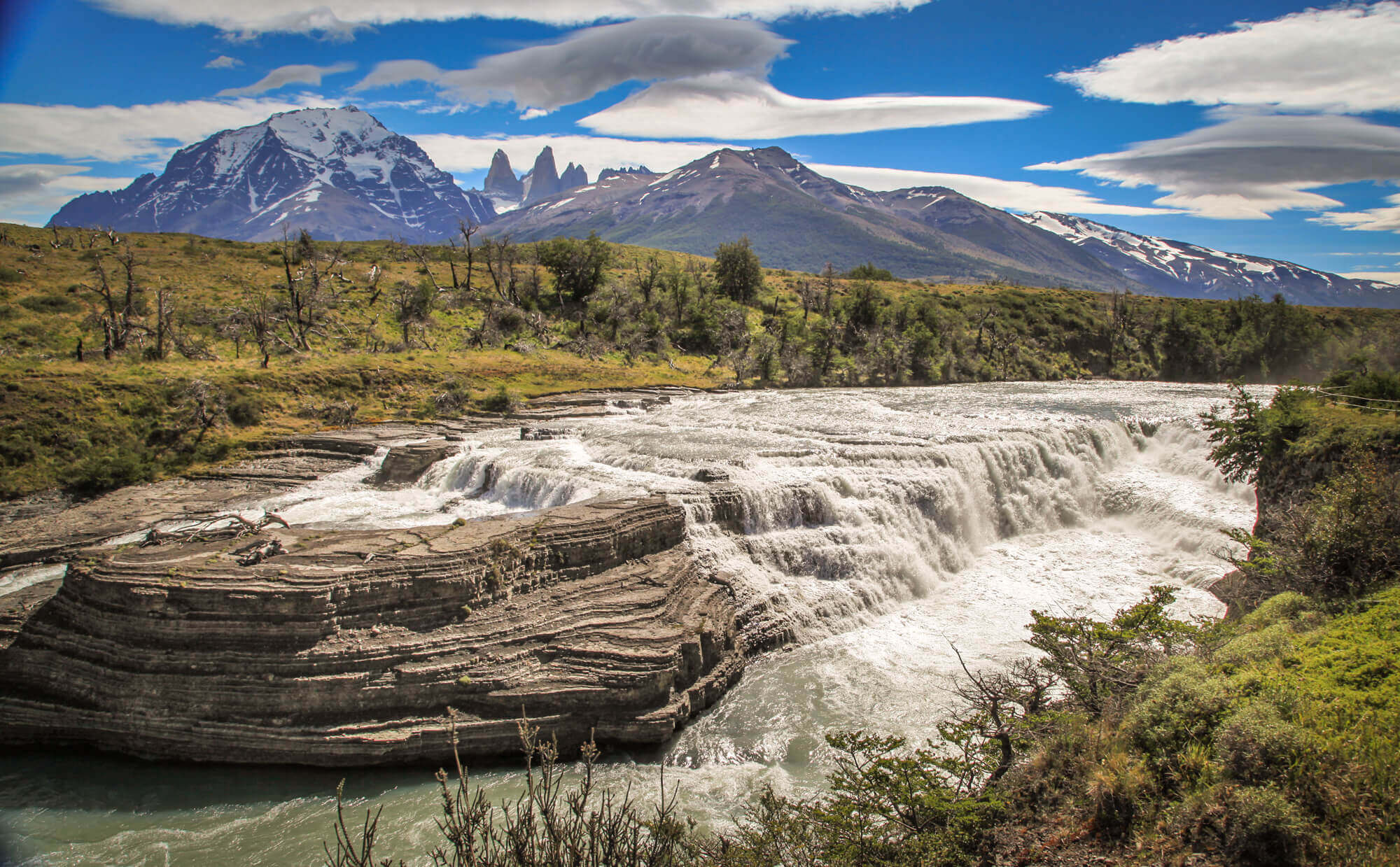 View of The Towers Torres del Paine